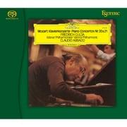 ESSG-90182 モーツァルト:ピアノ協奏曲第20番・第21番 フリードリヒ・グルダ(ピアノ)/クラウディオ・アバド(指揮) ウィーンフィル・ハーモニー管弦楽団 [Super Audio CD ハイブリッドソフト]