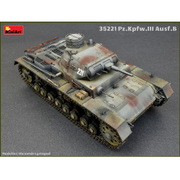 MA35221 [ドイツ III号戦車B型 5体乗員付 1/35 ミリタリーシリーズ]