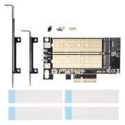 AIF-06A [M.2 SSD変換PCIeカード SATAコンボ]