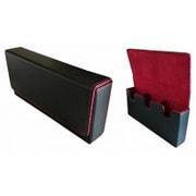 カードケース 黒赤 [トレーディングカード用品]