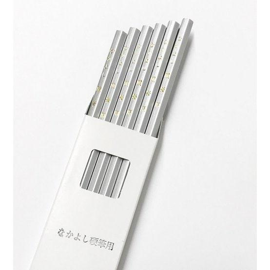 No.600 [なかよし硬筆用 銀鉛筆 4B(4mm芯) 1ダース(12本)入]