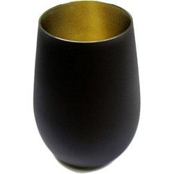 メタルカラータンブラー マットブラック/ゴールド