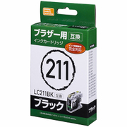 PP-BLC211BK [ブラザー LC211BK 互換インク ブラック]