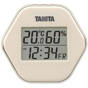 TT-573-IV [デジタル温湿度計 アイボリー]