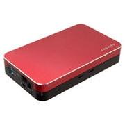 CSB35U3RD6G [USB3.0接続 SATA6Gbps対応 3.5インチHDD専用ケース レッド]