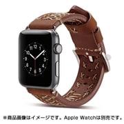 YEP-008-38BR [Apple Watch用レザーバンド 38mm ブラウン]