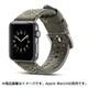 YEP-008-42GY [Apple Watch用レザーバンド 42mm グレー]