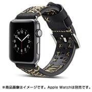 YEP-008-42BK [Apple Watch用レザーバンド 42mm ブラック]