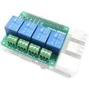 ADRSRU4 [Raspberry Pi用 リレー制御拡張基板 4回路]