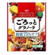 ごろっとグラノーラ 脂質75%オフ メープル仕立ての贅沢果実 400g