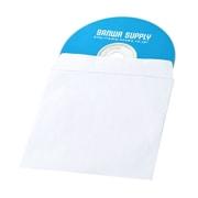FCD-PS100NWW [DVD・CDペーパースリーブケース 窓なしタイプ 100枚入り]