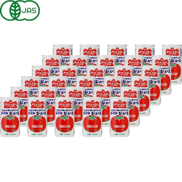 オーガニックトマトジュース 190g ×30本