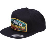 Megabass Trucker Hat Throwback Snapback ブラック