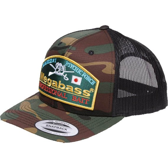 Megabass Trucker Hat Throwback Trucker カモ