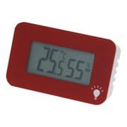 TD-8338 [温度・湿度計 シュクレ・イルミー レッド]