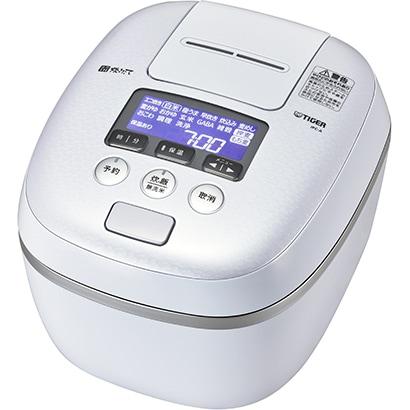 JPC-A102 WE [圧力IH炊飯器 5.5合炊き 炊きたて 360°デザイン 熱流&熱封土鍋コーティング アーバンホワイト]