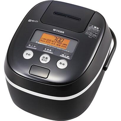 JPE-A181 K [IH炊飯器 1升炊き 炊きたて 熱風土鍋コーティング ブラック]