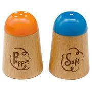 G05-1178 [木製玩具 はじめてのおままごと 塩&こしょう入れ 対象年齢:3歳~]