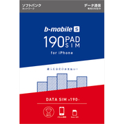 BS-IPN-PSDN [b-mobile S 190PadSIM for iPhone (ナノSIMパッケージ)]