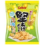 堅あげポテト ゆず塩レモン味 60g