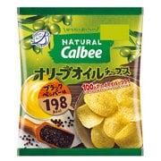 Natural Calbee オリーブオイルチップス ブラックペッパー味 40g