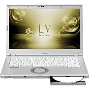 CF-LV73DVQR [Let's note(レッツノート) LV7シリーズ/ 14型/Core i7-8550U/メモリ8GB/SSD512GB/シルバー]