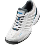 DPS615 203 [テニスシューズ(オールコート用) 24.5cm ホワイト/グレー]