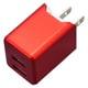 BA2ULAN3410RD [PREMIUM LightningCable付AC 3.4A 1.0m RD]