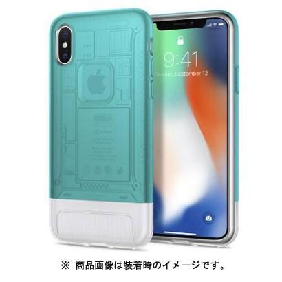 057CS23194 [iPhoneX用ケース iPhone X Classic C1 Bondi Blue]