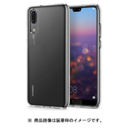 L21CS23081 [P20用ケース HUAWEI P20 Liquid Crystal Crystal Clear]