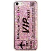 73884 [iPhone8/7 対応ケース PINK-latte GIRLS TRIP ピンク]