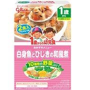 1歳からの幼児食 白身魚とひじきの和風煮 170g(85g×2袋) [1歳~]