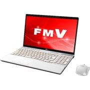FMVA77C2W [ノートパソコン LIFEBOOK AHシリーズ/15.6型ワイド/Corei7-8550U/メモリ 8GB/SSD 128GB + HDD 1TB/Blu-rayドライブ/Windows 10 Home 64ビット/Office Home and Business 2016/プレミアムホワイト]