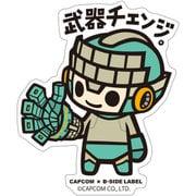 CAPCOM×B-SIDE LABELステッカー ロックマン11 武器チェンジ [キャラクターグッズ]