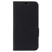 Y!mobile Selection スタンドフリップケース for HUAWEI P20 lite ブラック [スマートフォンケース]