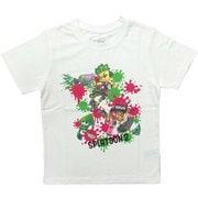 スプラトゥーン2 KIDS ナワバリバトルTシャツ WHT 110cm [キャラクターグッズ]