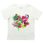 スプラトゥーン2 KIDS ハイカラストリートTシャツ WHT 110cm [キャラクターグッズ]
