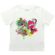 スプラトゥーン2 KIDS ハイカラストリートTシャツ WHT 120cm [キャラクターグッズ]
