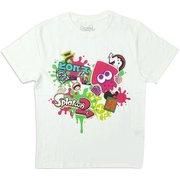スプラトゥーン2 ハイカラストリートTシャツ WHT Mサイズ [キャラクターグッズ]