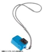 スリーブ + ランヤード ACSST-003 ブルー [本体ケース・ハウジング]