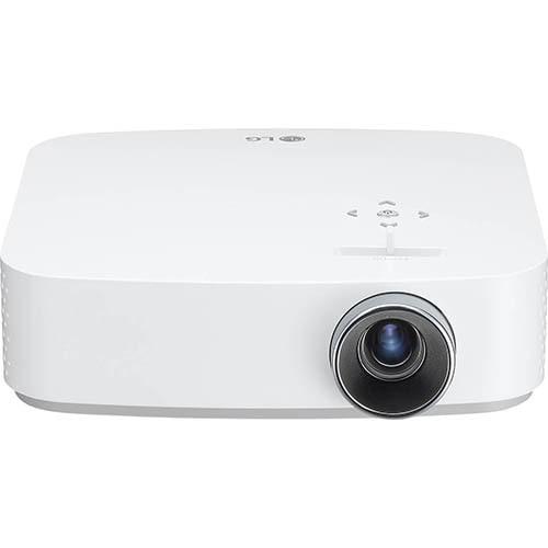 PF50KS [ホームプロジェクター/フルHD(1920×1080) 最大100インチ/600ルーメン(LED光源/DLP方式)/バッテリー内蔵(最大2.5時間)/自動台形補正/PD対応(パワーデリバリー)/WebOS内蔵/YouTube、Netflixアプリ内蔵/軽量コンパクト]