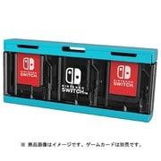 プッシュカードケース6 for Nintendo Switch ネオンブルー