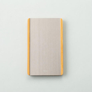 SL-0303 [SLIDE Bamboo Card Case_Titanium]