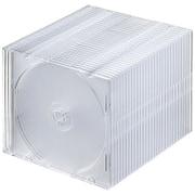 FCD-PU30CL [Blu-ray・DVD・CDケース スリムタイプ・30枚セット・クリア]