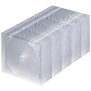 FCD-PU50CLN [Blu-ray・DVD・CDケース スリムタイプ・50枚セット・クリア]