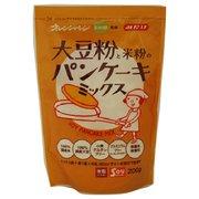 大豆粉と米粉のパンケーキミックス 200g
