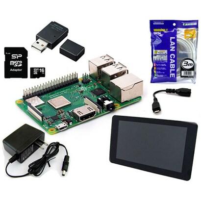 RASPi3P-ADV [Raspberry Pi 3B+ スターターセット/アドバンス]