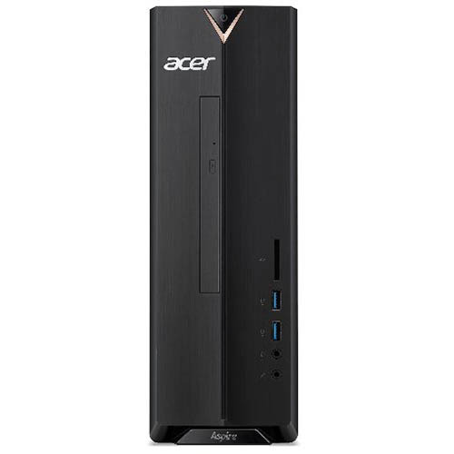 XC-830-N14F [Aspire XC-830/Celeron J4005/メモリ 4GB/HDD 1TB/DVD±R/RW スリムドライブ/Windows 10 Home 64ビット/WPS Office standard UWP 体験版 (30日間)/ブラック]