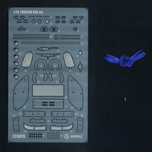 BEEMAXパーツ20 ポルシェ 935 K2用ディテールアップパーツ [1/24 BEEMAX プラモデル用ディティールアップパーツ]