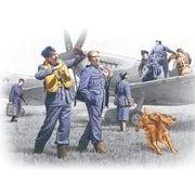 48081WWII 英空軍 パイロット&駆ランドクルー [1/48 エアクラフト用フィギュアシリーズ]